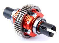 assembling components - High quality parts CNC alloy metal gear Differential Assembled set fit hpi rovan baja b t