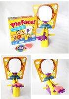 Wholesale Famous Korea Running Man Pie Face Game Pie Face Cream On Her Face Hit The Send Machine Paternity Toy Rocket Catapult Game Consoles