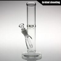 Verre bong tube droit Prix-Mobius bong verre - 10