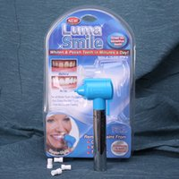 Wholesale Luma Smile Whiten Polish Teeth in Minutes a Day Beauty Device Tooth Whitening Instrument Cleaner Tools New Arrival sf