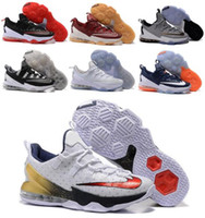 air jordans - Burst section Men s Lebron Low Basketball Shoes Sneakers White Sports Outdoors Man Lebrons XIII LB James Free Delivery