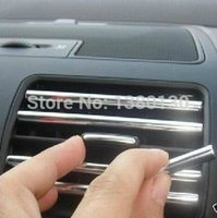 auto door trim molding - Exterior Accessories Chromium Styling New Arrive M DIY Flexible Car Auto Truck Door Edge Guard Trim Molding Strip Protector Silver Hot