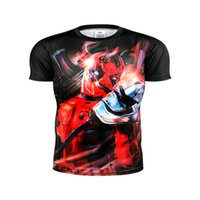 animate animated characters - 2016 he latest Deadpool T shirt Diffuse animated character Villain hero t shirts dt T shirt in summer