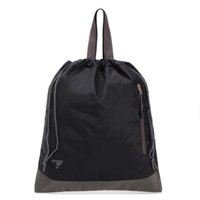 artwork shoes - Thickened Waterproof Nylon Hand Beam Pumping Rope Bag Shoe Bag