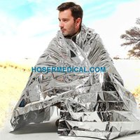 Wholesale emergency blanket Multi function waterproof thermall aluminum foil outdoor survival emergency blanket