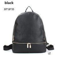 bags john - 2016 new John famous brands luxury M Women men bags backpack zipper designer school bag leather purse ladies travel bag