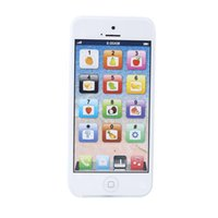 baby mobile toys - White Baby YPhone Mobile Phone Educational Toy Gift USB Cable Xmas
