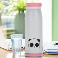 Wholesale 500ml Thermos Mug Insulated Tumbler Travel Cups Stainless Steel Vacuum Cup thermos tea termos coffee flask WHITE Color order lt no track