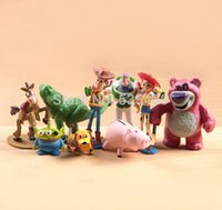 action stories - hot NEW set cm Toy Story Buzz Lighter Woody Jessie action Figures PVC Action Figure Model toys Christmas gift toy
