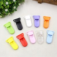 Wholesale 10pcs Pacifier clip style color Resin products x42mm safety supplies children DIY