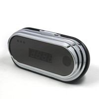 Wholesale Hidden Spy camera DV video recorder Million CMOS Muti functional HD VGA Camera With Alarm Clock Support Remote Take Video Picture