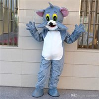Wholesale Character Role Playing Tom cat and Geely mouse cartoon dolls clothing Tom Cat and mouse Geely mascot costume adult size