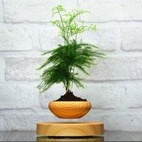 balance pot - self balance magnetic levitation air bonsai no plant Suspension flower pot pottedplant levitate tubs
