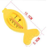 in vitro baby bath product - baby care Bath Shower Product Water Thermometers Plastic Float Baby boy girl Bath Toy Tester Kid Promotion Floating Fish cute