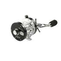 Wholesale 5 BB Full Metal Left Hand Drum Baitcasting Fishing Reel High Quality Fly Fishing Reel