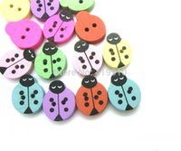beetle pattern - Random Mixed beetles Wood Sewing Buttons Holes Pattern Scrapbooking x14 mm quot x5 quot J1341