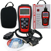 Wholesale MS509 MaxiScan code OBD scanner latest version high quality ms509 Code Reader Autel MS Car Diagnostic Tool DHL