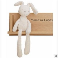 Wholesale 52cm Mamas Papas Baby Toys Cute Rabbit Sleeping Comfort Stuffed Doll Cartoon Bunny Plush Animals Hot Toys For Baby Gifts