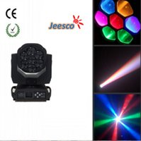 bee moving - Hot Sale w LED Bee Eye Zoom Moving Head Light For Stage Light Disco Light Single Led Can Point Control