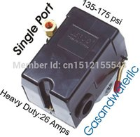 Wholesale Single Port Air Compressor Machine Pressure Switch PSI Heavy Duty Amps