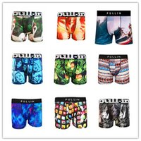 Wholesale Pull In Underwear Men Plaid Boxer Shots Underpants Hot Sale Brand Top Quality Mans Cuecas Boxer drop Shipping S M L XL