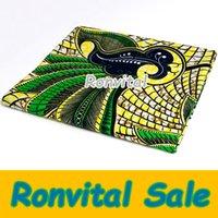 batik fabrics - African cotton printed batiks super batik DIY fabric limited time sale H588