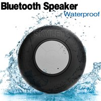 mini speakers - Bluetooth Speaker Waterproof Wireless Shower Handsfree Mic Suction Chuck Speaker Car Speaker Portable mini MP3 Super Bass Call Receive