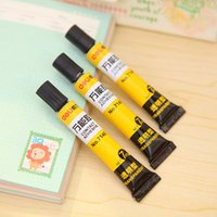 Wholesale 3 Contact adhesive super glue for glass wood leather stationery adesivo office material school supplies