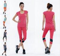 Wholesale Yoga Running Pants leggings fitness contrast Color Elastic Fitness Jeggings Women Sport Leggings Pants Running Training Gym Women Leggings