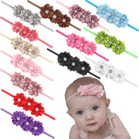beach stones - DIY braided lotus infant headband inch girl casual cloth headdress color student beach stones flower head
