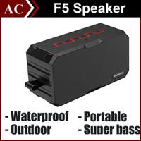 bass tabs - SARDINE F5 IP67 Waterproof Outdoor Bluetooth Wireless Mini Speaker Portable Super Bass Sound Subwoofer Handsfree mah Power Bank for Tab