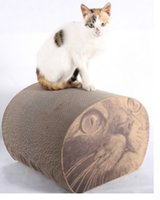 Wholesale Hot Light green cat toy cat corrugated board furniture