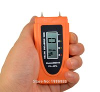 bamboo timber - Mini Pins LCD Wood Bamboo Cotton Moisture Meter Tester Timber Damp Detector MD816