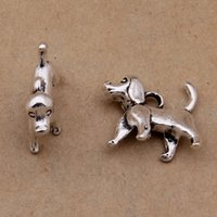 animal breeding - Vintage Alloy Breed Of Dog Animal Charms mm AAC1261