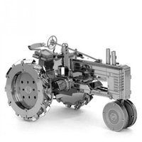 artificial intelligent - DIY Farm Tractor Shape D dimensional Intelligent Metal Puzzle Jigsaw Toy Artificial Model