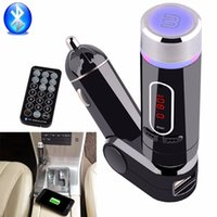 Wholesale Bluetooth Car Kit FM Transmitter Handsfree MP3 Player Charger for Smart Phone Wireless Car Music Player FM28B