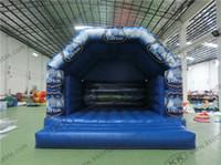 air jump kids - Football theme children inflatable bouncer Europe kids bouncy castle air jumping house