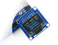 Wholesale inch OLED module blue and yellow OLED display module straight needle