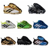 best outdoor winter shoes - ACE Purecontrol FG Football Boots Soccer Boots Mens Laceless Soccer Cleats New Cheap Best Quality Football Soccer Shoes Stellar Pack