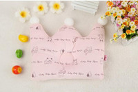 Wholesale Baby Crown Pillow Baby Girl Boy Pillow Kids Pillow Infant Crown Pillow Baby pillow dimple pillow crown shape years ZY001