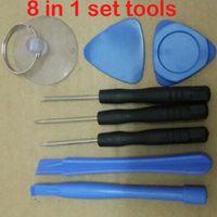 Wholesale 8 in Repair Pry Kit Opening Tools With Point Star Pentalobe Torx Screwdriver Tools Repair Set screwdriver For Apple iPhone