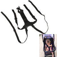 Wholesale Baby Kids Points Safety Harness Stroller High Chair Pram Car Belt Strap L00045 CAD