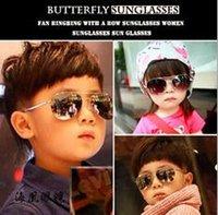 baby frame designer - Sunglasses HOT Kids designer sunglasses Children Beach Supplies UV protective eyewear baby glasses for boys Girls sun glasses