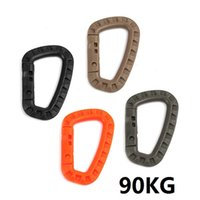 big d chains - 4 Color cm Plastic Climbing Carabiner D Ring Key Chain Clip Hook Camping Buckle Snap b091
