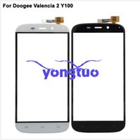 Wholesale New touch screen For quot Doogee Valencia Y100 ProTouch panel Digitizer Glass Sensor Valencia2 Touch Panel