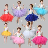 Wholesale Perfect performance dress for Kids Festival performance cloth for kids Graduation party dress for girls