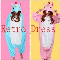 Wholesale Newest Adults Pajamas All in One Pyjama Animal Suit Cosplay Women Winter Garment Cute Cartoon Animal Unicorn Onesie Pajama Sets