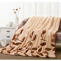 Wholesale Coral Fleece Blanket Flannel Fleece Blanket Spring and Summer Towels Sierran Blanket For Bedding Sheet For Bedroom