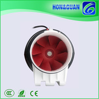 Wholesale Ultra Quiet HDD P Inch mm IP44 Turbo Inline Mixed Flow Fan Air Blower for Grow Room