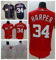 Wholesale Nationals Bryce Harper Cool Baseball Jerseys New Jerseys Cheap Cool Base Authentic Baseball Shirts Washington Jerseys